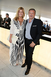 FRANCESCA HULL and MARK FULLER at the launch of the Odabash Macdonald Resort 2014 swimwear collection at ME Hotel, London on 25th June 2013.