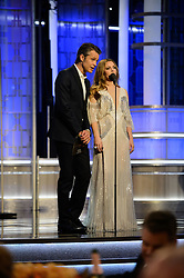 Jan 8, 2017 - Beverly Hills, California, U.S - TIMOTHY OLYPHANT and DREW BARRYMORE present the Golden Globe for BEST TV SERIES, MUSICAL OR COMEDY at the 74th Annual Golden Globe Awards at the Beverly Hilton in Beverly Hills, CA on Sunday, January 8, 2017. (Credit Image: ? HFPA/ZUMAPRESS.com)