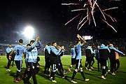 20170917/ Nicolas Celaya - adhocFOTOS/ URUGUAY/ MONTEVIDEO/ ESTADIO CENTENARIO/ Uruguay vs Bolivia por la ultima fecha de eliminatorias al Mundial FIFA Rusia 2018 en el estadio Centenario. <br /> En la foto: Uruguay tras la clasificacion ante Bolivia por la ultima fecha de eliminatorias al Mundial FIFA Rusia 2018 en el estadio Centenario.  Foto: Nicolás Celaya /adhocFOTOS