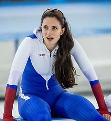 10-12-2016 NED: ISU World Cup Speed Skating, Heerenveen<br /> 1500 m women / Yekaterina Lobysheva RUS
