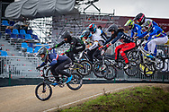 2021 UCI BMXSX World Cup<br /> Round 4 at Bogota (Colombia)<br /> Qualification Moto<br /> ^me#100 MAHIEU, Romain (FRA, ME) DN1 GT Sarrians<br /> ^me#206 CARMONA GARCIA, Mateo (COL, ME) <br /> ^me#227 WEBSTER, Liam (GER, ME) Moto-Sheets<br /> ^me#187 GARCIA, Jared (USA, ME)