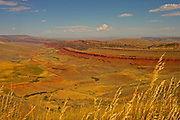 Red Canyon Rim, Red Canyon, Wyoming, U.S.A. canyon landscape peaceful scenery serenity tranquil view