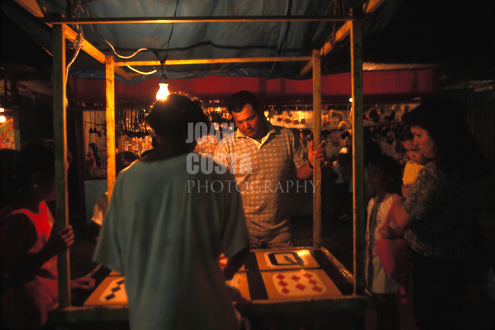 BELIZE / San Pedro / People having fun at San Pedro´s fair...© JOAN COSTA