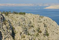Adriatic coastline, Velebit Nature Park, Rewilding Europe rewilding area, Velebit  mountains, Croatia