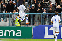 FOOTBALL - FRENCH CHAMPIONSHIP 2011/2012 - L1 - AJ AUXERRE v AC AJACIO  - 27/08/2011 - PHOTO GUY JEFFROY / DPPI - JOY ALAIN TRAORE (AUX)