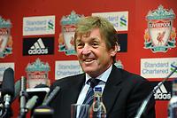 Kenny Dalglish Caretaker Manager at todays Press Conference 10/01/11<br />Liverpool 2010/11<br />Photo: Fotosports International
