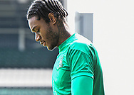Plymouth Argyle Defender Jerome Opoku (24) half body portrait  during the EFL Sky Bet League 1 match between Plymouth Argyle and Sunderland at Home Park, Plymouth, England on 1 May 2021.