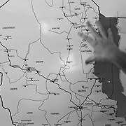 Map of the Turkana region of northwestern Kenya. Photo: Sanjit Das/Panos