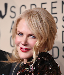 January 21, 2018 Los Angeles, CA This Is Us cast 24th Annual Screen Actors Guild Awards held at the Shrine Exposition Center. 21 Jan 2018 Pictured: Nicole Kidman. Photo credit: OConnor-Arroyo / AFF-USA.com / MEGA TheMegaAgency.com +1 888 505 6342