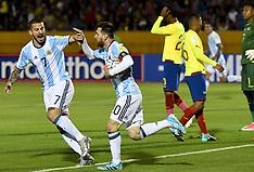 Argentina v Ecuador - 10 Oct 2017
