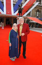 Artist ROLF HARRIS and his wife ALWEN at the Royal Academy of Art's SUmmer Party following the official opening of the Summer Exhibition held at the Royal Academy of Art, Burlington House, Piccadilly, London W1 on 7th June 2006.<br />