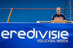 Rianne Verhoek in action during the league match between Draisma Dynamo vs. Amysoft Lycurgus on March 13, 2021 in Apeldoorn.