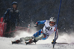 21.12.2011, Hermann Maier Weltcup Strecke, Flachau, AUT, FIS Weltcup Ski Alpin, Herren, Slalom 1. Durchgang, im Bild Marc Berthod (SUI) in Aktion // Marc Berthod of Suisse in action during Slalom race 1st run of FIS Ski Alpine World Cup at 'Hermann Maier World Cup' course in Flachau, Austria on 2011/12/21. EXPA Pictures © 2011, PhotoCredit: EXPA/ Johann Groder