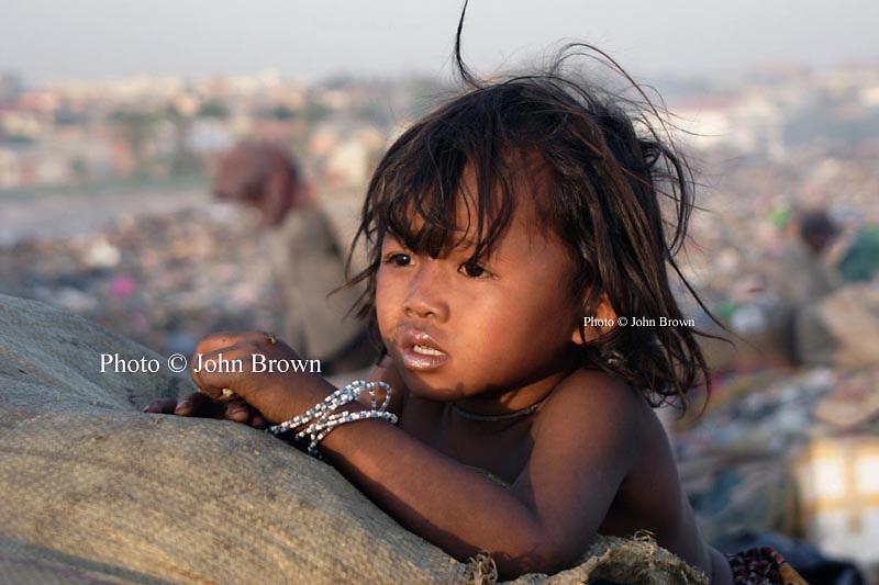 Photograph Cambodian Girl, Battambang by Ellie Goddard on