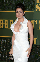 Salma Hayek attending the London Evening Standard Theatre Awards held at the Old Vic Theatre, London on 22nd November, 2015.<br />Photo credit should read: Doug Peters EMPICS Entertainment