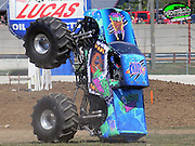'I like doing donuts, driving over cars and wheelies': Meet the world's youngest monster truck driver at just EIGHT years old<br /> <br /> He may be too young to have a driver's license but eight-year-old Kaid Jaret Olson-Weston has been entertaining Americans as the world's youngest monster truck driver for years.<br /> The third-grader, who got his first monster truck when he was just six years old, has become an internet sensation thanks to the videos he and his school-age fans have uploaded on YouTube.<br /> 'I like doing donuts. I like going over the cars. My favorite is doing the wheelies. My truck has so much power,'<br /> The Fort Lauderdale youngster's love of the niche sport began at the tender age of three, when he attended his first monster truck show at Sun Life Stadium with his dad, Tod Weston, an avid fan.<br /> 'When he came back, he said, 'I want to be a monster truck driver,' Weston said. 'He was pretty much set on what he wanted to do.'<br /> Weston and wife Nancy, who also has her own monster truck, the Fancy Nancy, started Kaid off on a go-cart that looked like a monster truck at age four but pretty soon he was driving the real thing - almost.<br /> <br /> At 11 feet long, 7 feet high and weighing just under 3,000 pounds, Kaid's truck, called Monster Bear, is half the size of a full-size monster truck, which is about 20 feet long, 13 feet high and 10,000 pounds.<br /> The bright-blue-and-green beast has as a harness, neck restraints and a roll cage that keep Kid KJ, as his followers affectionately call him, tightly strapped in and he also wears a fire suit.<br /> His parents have a remote ignition-interrupt system that can stop the truck during shows if something goes wrong.<br /> <br /> 'It's an extreme sport, but it's extremely safe. We made it safe,' Weston said. 'I see the passion in him. I see him doing what he loves, and I see him doing it well. It's a gleam from ear to ear.'<br /> During the week, Kaid is an ordinary third-grader at Westm