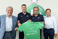 Oscar Garcia signs for Saint Ettienne