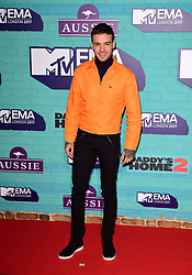 Liam Payne attending the MTV Europe Music Awards 2017 held at The SSE Arena, London.