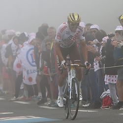 LUZ ARDIDEN (FRA) CYCLING: July 15<br /> 18th stage Tour de France Pau-Luz Ardiden<br /> Images from the Col du Tourmalet<br /> Greg van Avermaet