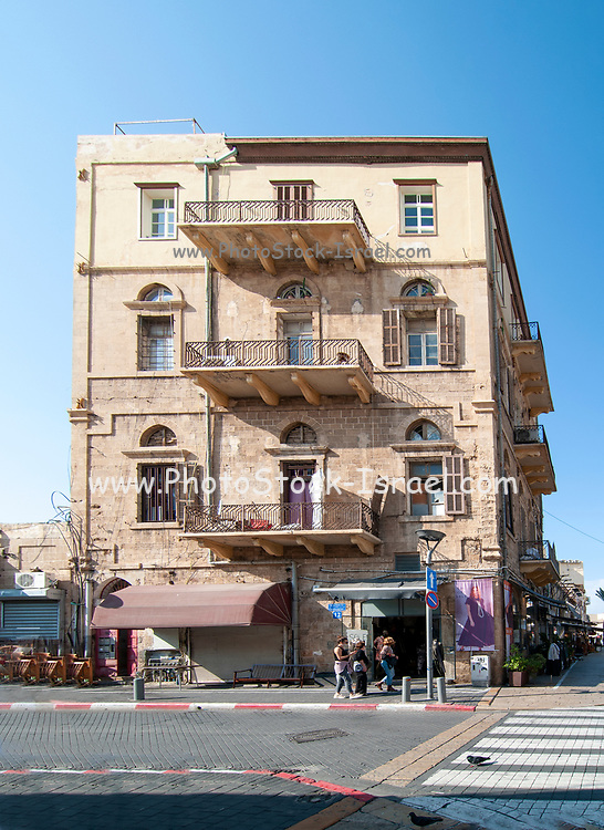 Historic building on Beit Eshel street, Old Jaffa, Tel Aviv, Israel [Near the Historic Clock Tower]