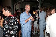 HUGO BURNAND, Tatler magazine's  pyjama party sponsored by Thomas Pink. Claridge's. London. 7 July 2011.<br /> <br />  , -DO NOT ARCHIVE-© Copyright Photograph by Dafydd Jones. 248 Clapham Rd. London SW9 0PZ. Tel 0207 820 0771. www.dafjones.com.