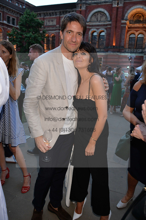 Kris Thykier and Claudia Winkleman at the V&A Summer Party 2017 held at the Victoria & Albert Museum, London England. 21 June 2017.<br /> Photo by Dominic O'Neill/SilverHub 0203 174 1069 sales@silverhubmedia.com