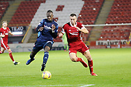 Aberdeen defender Andrew Considine (4) during the Scottish Premiership match between Aberdeen and Hamilton Academical FC at Pittodrie Stadium, Aberdeen, Scotland on 20 October 2020.