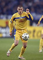 Fotball<br /> Foto: imago/Digitalsport<br /> NORWAY ONLY<br /> <br /> 06.04.2006  <br /> <br /> Valeri Domovchijski (Levski Sofia) am Ball<br /> <br /> FC Schalke 04 - PFK Levski Sofia 1:1<br /> UEFA Cup 2005/2006