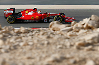 VETTEL sebastian (ger) ferrari sf15t action during 2015 Formula 1 FIA world championship, Bahrain Grand Prix, at Sakhir from April 16 to 19th. Photo Florent Gooden / DPPI