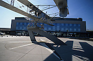 France. massif central. Clermont Ferrand. The airport  , european hub    France  /   l'aeroport, Hub europeen  Clermont Ferrand  France   /  / L005081  /  R20707  /  P114789