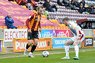 Charles Vernam during the EFL Sky Bet League 2 match between Bradford City and Scunthorpe United at the Utilita Energy Stadium, Bradford, England on 1 May 2021.