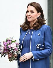 The Duchess of Cambridge visits RCOG - 27 Feb 2018