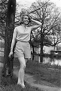 24/04/1964<br /> 04/24/1964<br /> 24 April 1964 <br /> Miss Martha Rose, Model at Violet Collins Agency, 5 Upper Pembroke Street, Dublin.