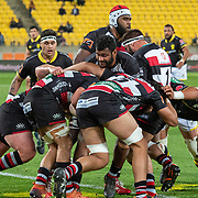 Action during the  the Mtire 10 Cup rugby union game played between Wellington  v Counties Manukau played at Westpac Stadium , Wellington, New Zealand, on 29 August  2019.   Final score 29 v 22 to Wellington.