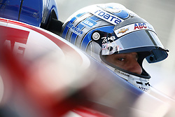 April 13, 2018 - Long Beach, California, United States of America - April 13, 2018 - Long Beach, California, USA: Tony Kanaan (14) sits in his car while his team makes adjustments during practice for the Toyota Grand Prix of Long Beach at Streets of Long Beach in Long Beach, California. (Credit Image: © Justin R. Noe Asp Inc/ASP via ZUMA Wire)