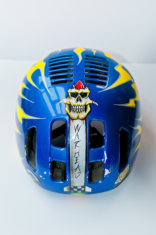 Troy Lee Designs Edge mountain bike helmet, circa early 1990s.
