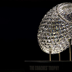 January 6, 2012; New Orleans, LA, USA; A portrait of the crystal football that sits on top of The Coaches Trophy awarded to the winner of the National Championship is seen during Media Day for the 2012 BCS National Championship game to be played on January 9, 2012 between the LSU Tigers and Alabama Crimson Tide at the Mercedes-Benz Superdome.  Mandatory Credit: Derick E. Hingle-US PRESSWIRE