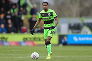Forest Green Rovers Reece Brown(10) during the EFL Sky Bet League 2 match between Forest Green Rovers and Lincoln City at the New Lawn, Forest Green, United Kingdom on 2 March 2019.