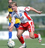 Fotball 2.divisjon avd. 4, Strindheim - Levanger 28.05.05<br /> Bjørn Arve Lund, Levanger<br /> Foto: Carl-Erik Eriksson, Digitalsport
