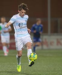 Callum McCowatt (FC Helsingør) under kampen i 1. Division mellem HB Køge og FC Helsingør den 4. december 2020 på Capelli Sport Stadion i Køge (Foto: Claus Birch).
