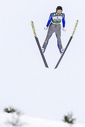 February 8, 2019 - Lahti, Finland - Maximilian Pfordte competes during Nordic Combined, PCR/Qualification at Lahti Ski Games in Lahti, Finland on 8 February 2019. (Credit Image: © Antti Yrjonen/NurPhoto via ZUMA Press)