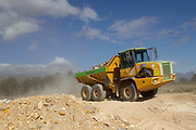 Burma Plant Hire machinery working at Val de Vie, Paarl. Image by Greg Beadle