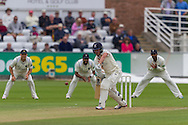 Michael Richardson l (Durham County Cricket Club) in action during the LV County Championship Div 1 match between Durham County Cricket Club and Warwickshire County Cricket Club at the Emirates Durham ICG Ground, Chester-le-Street, United Kingdom on 14 July 2015. Photo by George Ledger.