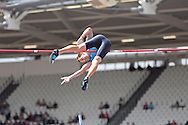 Winner Renaud Lavillenie of France in the Pole Vault during the Sainsbury's Anniversary Games at the Queen Elizabeth II Olympic Park, London, United Kingdom on 25 July 2015. Photo by Phil Duncan.