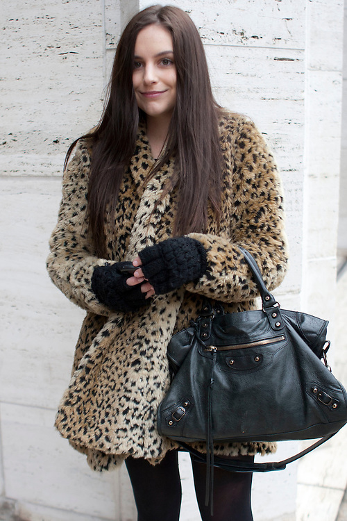Style off the catwalks during day three at AW 2012 New York Fashion Week, NY, USA. February 11, 2012.