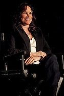 """Barbara Hershey speaking about her role in the film """"Black Swan"""" during a Q and A screening at the Arclight Cinema held by The Wrap."""