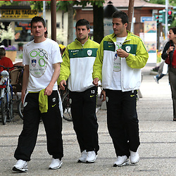 20100528: ITA, Slovenian National football team at Training camp for South Africa 2010 in Brunico