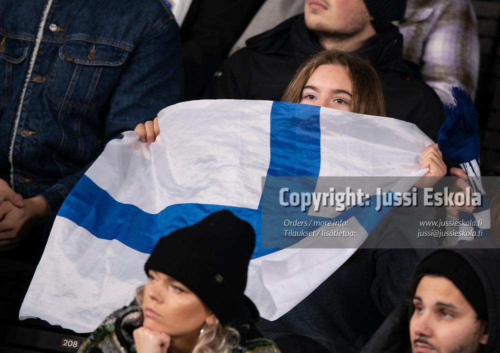 Yleisöä, fanit. Suomi - Ukraina. MM-karsinta. Helsinki 9.10.2021. Photo: Jussi Eskola