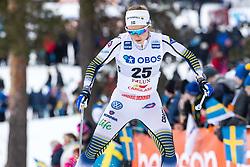 March 16, 2019 - Falun, SVERIGE - 190316 Johanna Hagström of Sweden during the FIS Cross-Country World Cup on march 16, 2019 in Falun  (Credit Image: © Daniel Eriksson/Bildbyran via ZUMA Press)