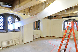 Sterling Memorial Library SML Tech Services Construction Progress. Fifth Photo Submission. Mezzanine. Date of Photography: 5 March 2013.
